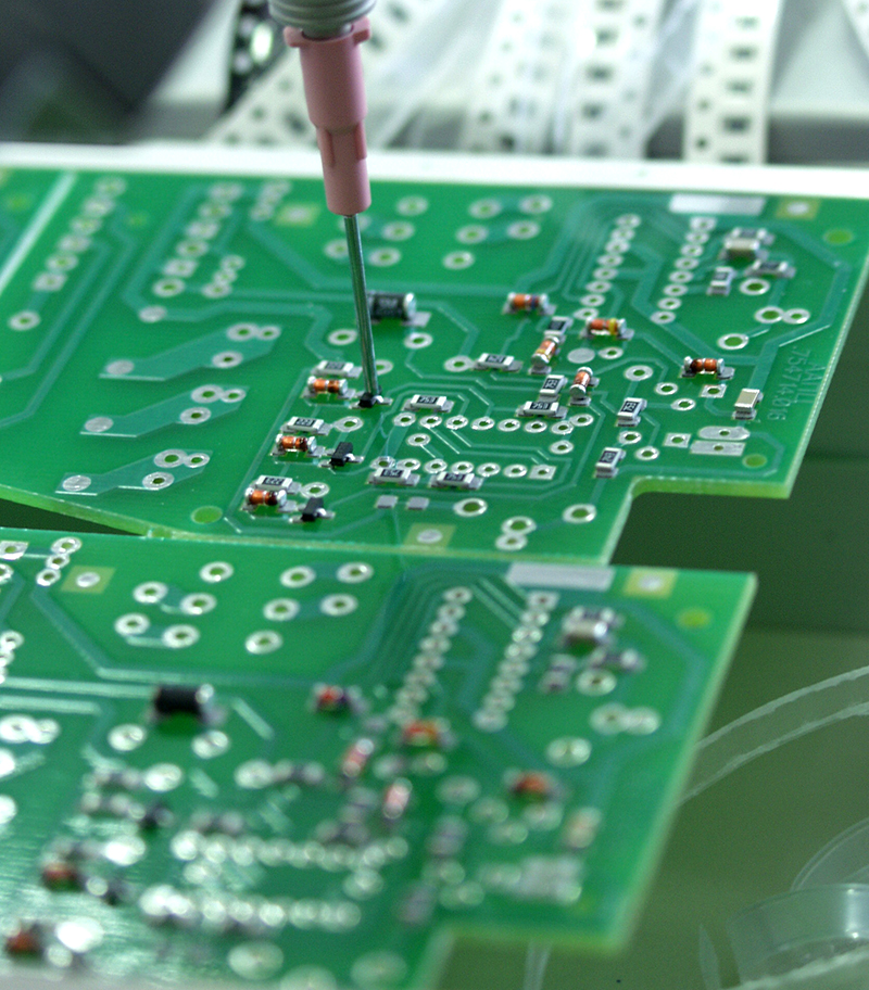 Contract manufacturing of electronics