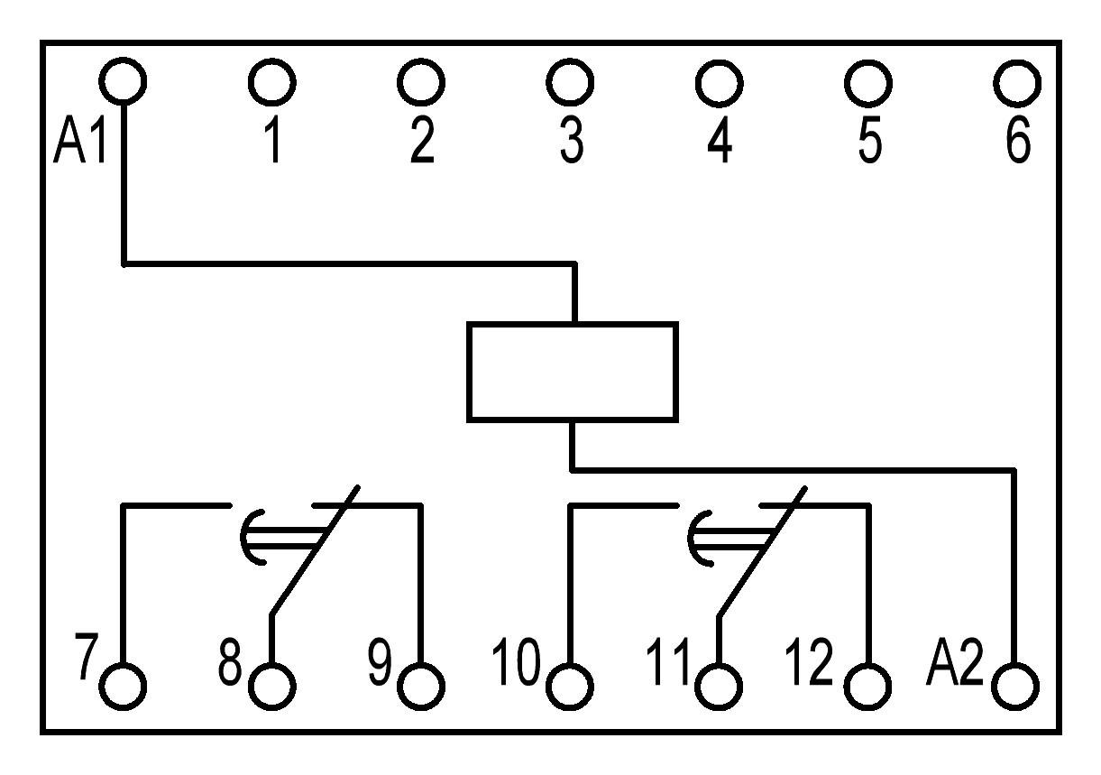 ПЭ45А-1 - схема подключения