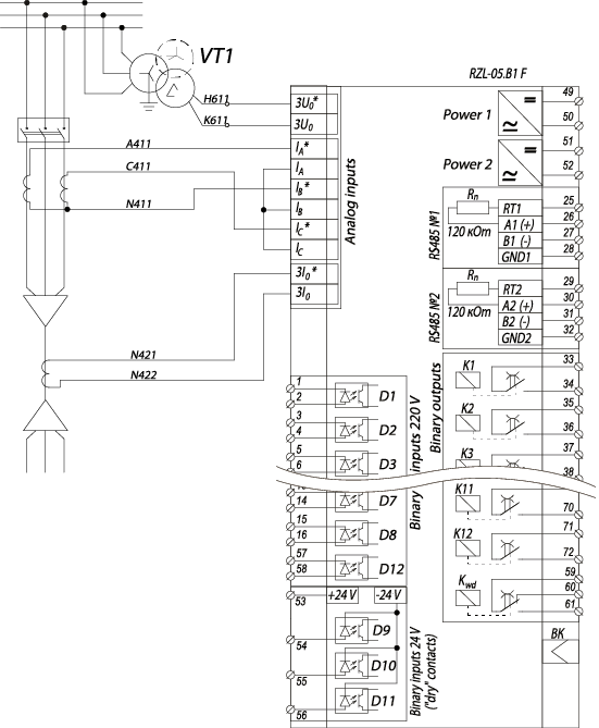 RZL-05.B1 F - wiring