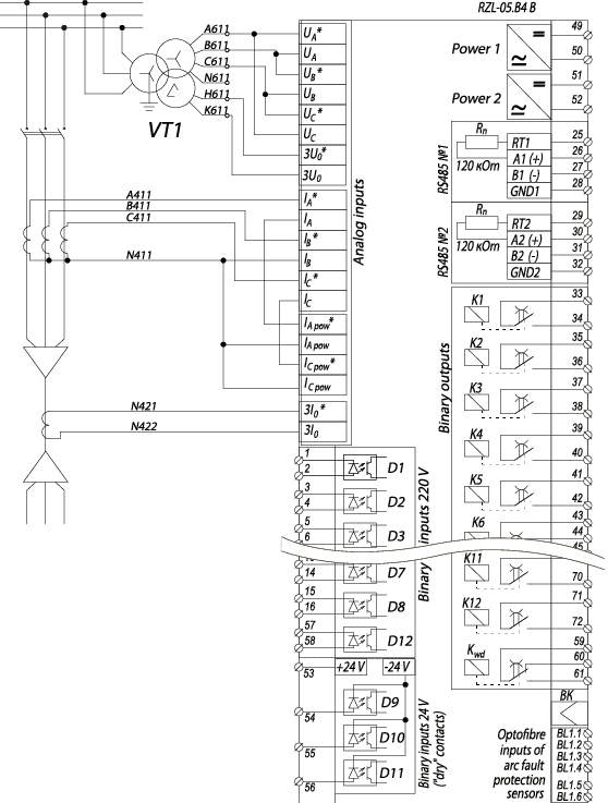 RZL-05.B4 B - wiring