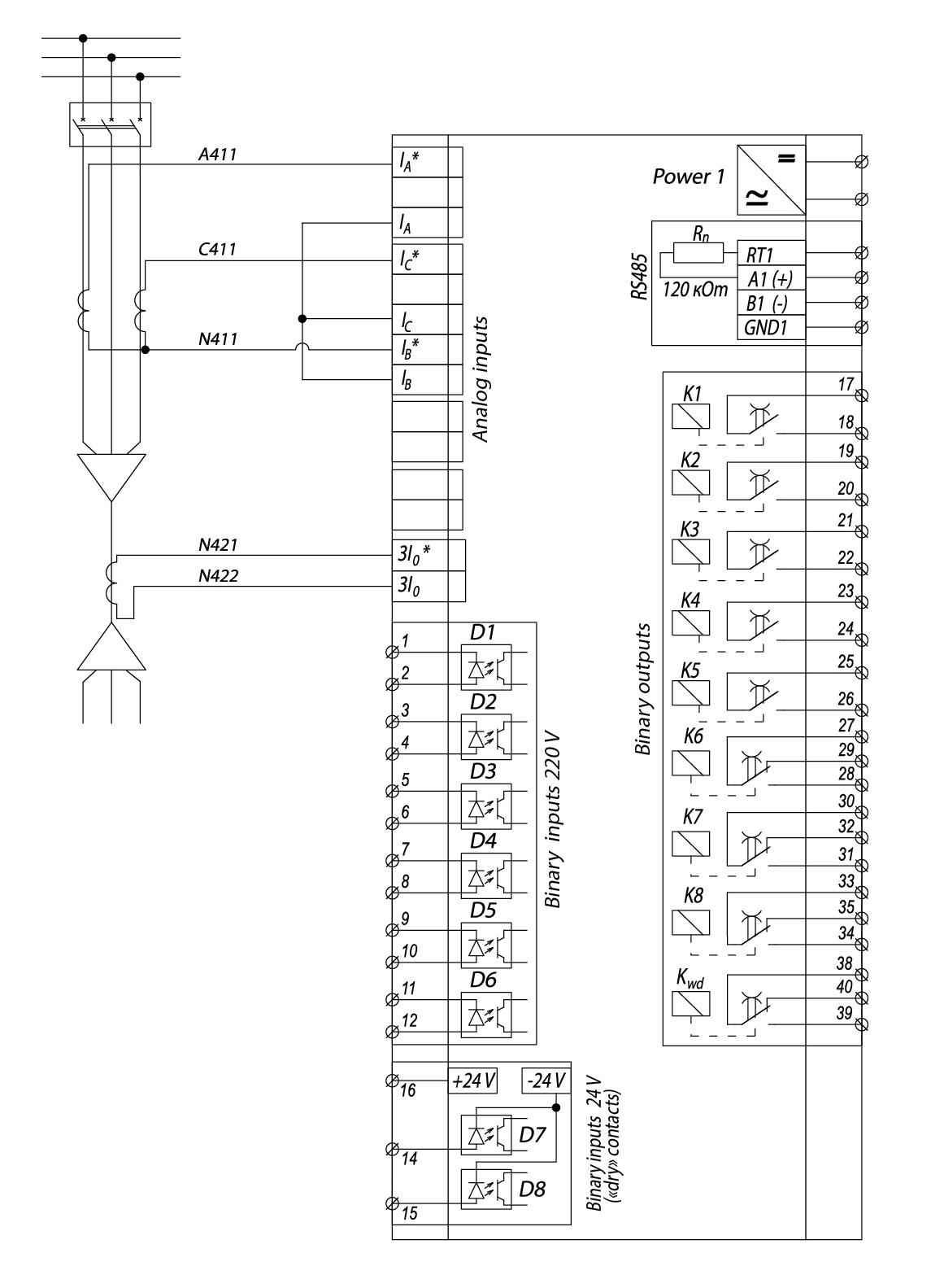 RZL-05.M1 - wiring