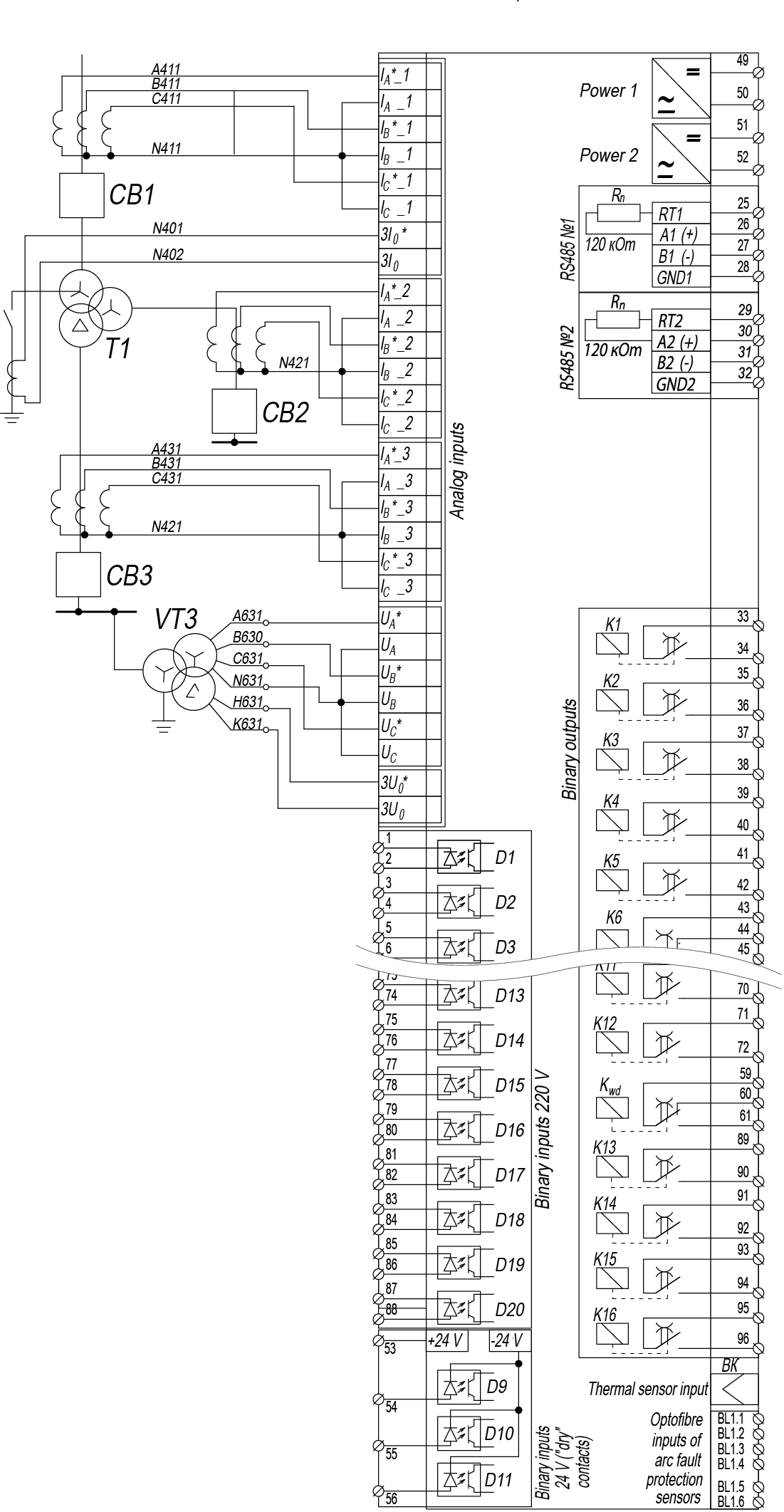 RZL-05.DP-13 - wiring diagram