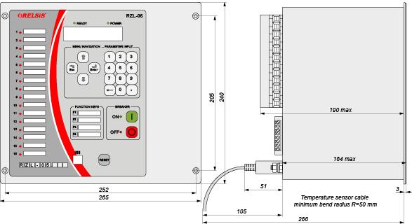 RZL-05_A - dimensions