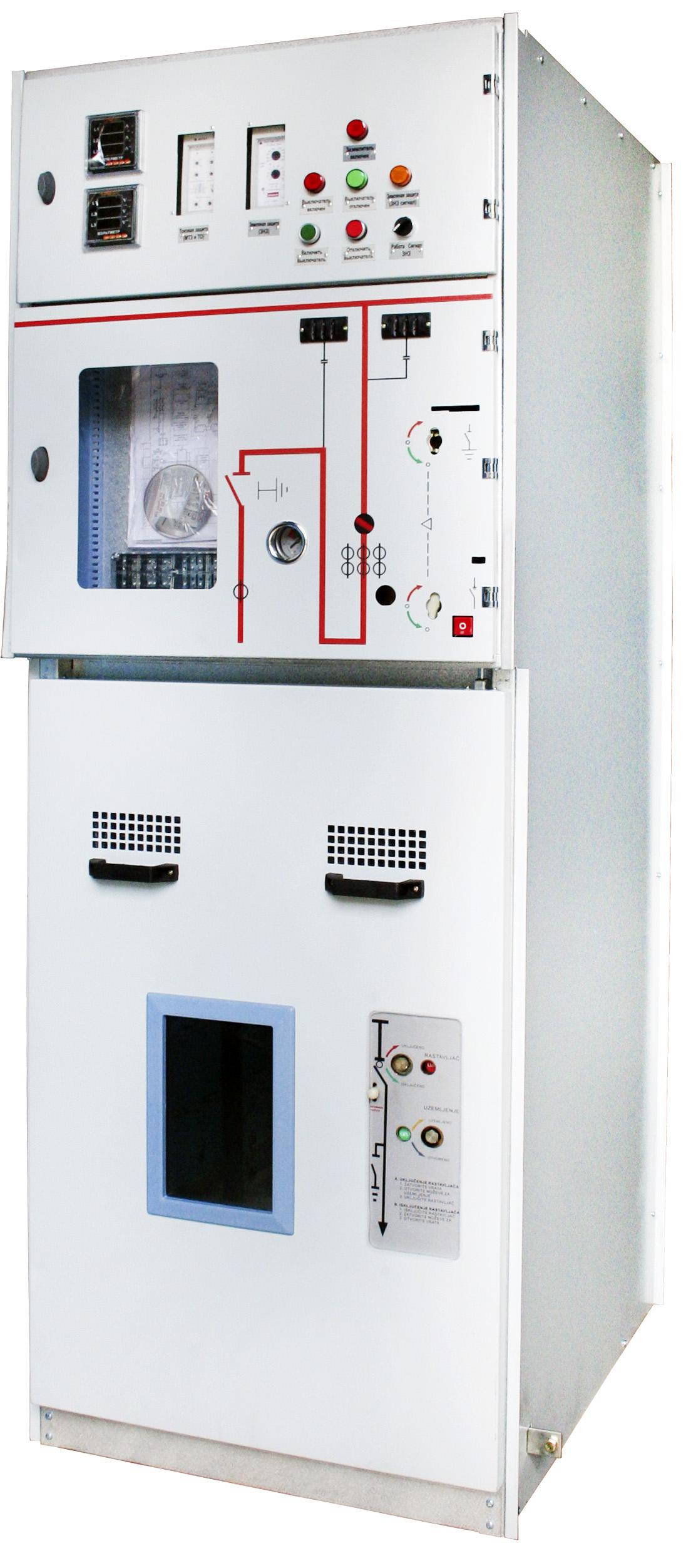 Шкафы релейной защиты и телемеханики