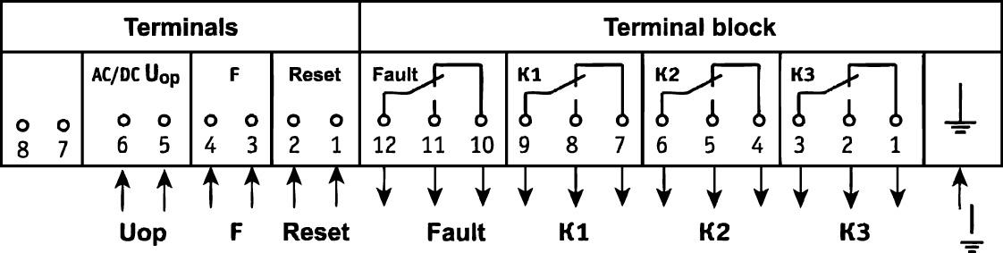 URCh-3M-C, URCh-3M-C-01 connection diagram