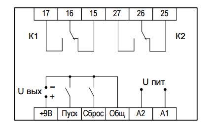 ВЛ-159M-4 - схема подключения