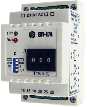 VL-173...VL-179 - high-precision time relay